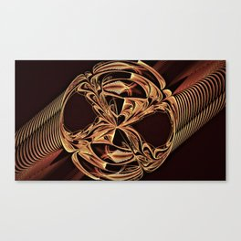Golden Signet Canvas Print
