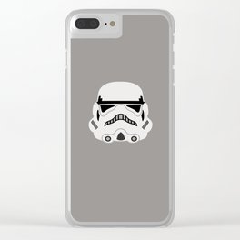 Stormtrooper Clear iPhone Case