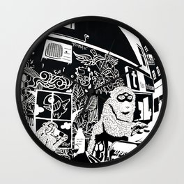 Diogenes Syndrome Wall Clock