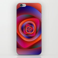 Pschedelic Spiral iPhone & iPod Skin