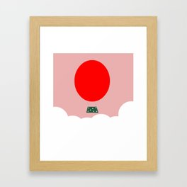 Up to the sky Framed Art Print