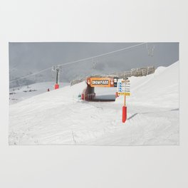 Entrance to the Snowpark Rug