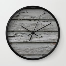 Weatherboards Wall Clock