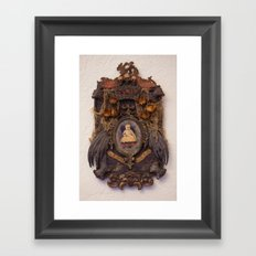 Gloria Mundi Memorial Framed Art Print