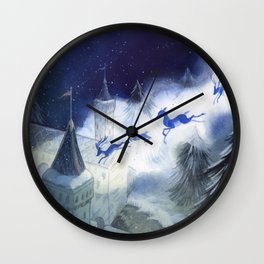December's Tale Wall Clock
