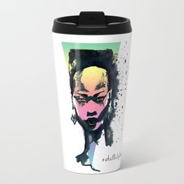Grace Jones A4 art print  Travel Mug