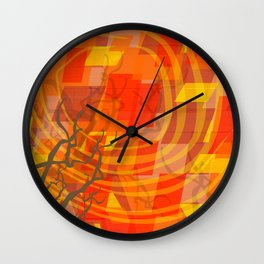 Ode to Autumn Wall Clock