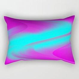 DREAM PATH (Purples, Fuchsias & Turquoises) Rectangular Pillow