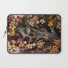 Orange Bird Laptop Sleeve