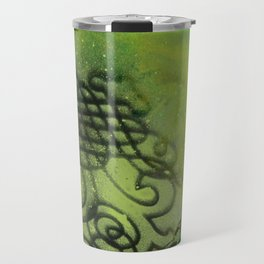 Maelstrom, captivating abstract painting Travel Mug