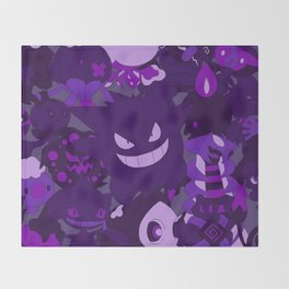 Gengar Throw Blanket