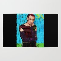 danny ivan Area & Throw Rugs featuring Danny Hennesy by brett66