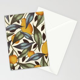 Lemons, Oranges & Pears Stationery Cards