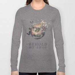 Beholder (Typography) Long Sleeve T-shirt