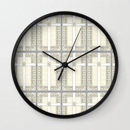 Lace Cross Wall Clock