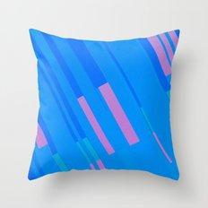 Canopus Blue Pink Throw Pillow