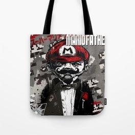 Super Mario Father Tote Bag