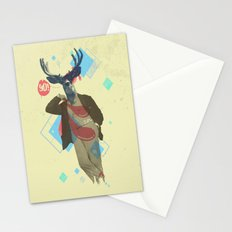 Yo! Deer Man Stationery Cards