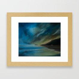 Born on the wind. Framed Art Print