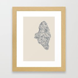 'Inheritance' (1 of 6). Original ink drawings re-coloured in Photoshop. (Other colourways available) Framed Art Print