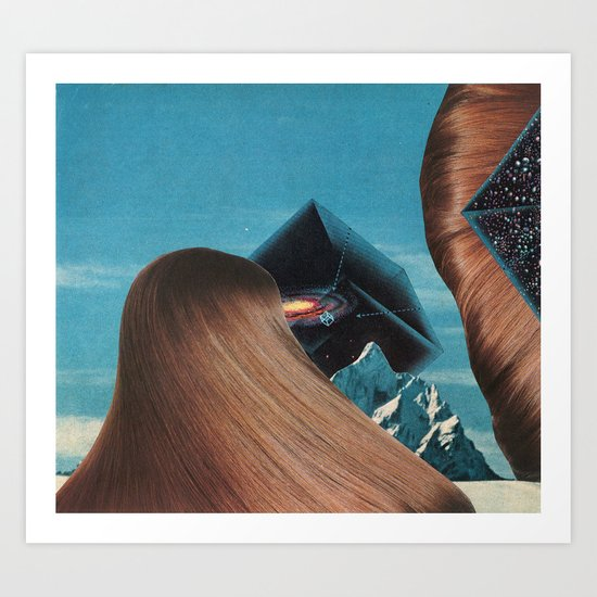 the thin air - goofbutton collaboration #7 Art Print