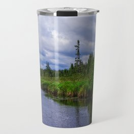 Boundary Waters Entry Point Little Indian Sioux River Travel Mug