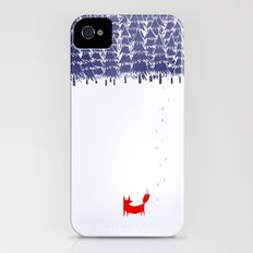 Alone in the forest iPhone (4, 4s) Slim Case
