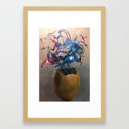 Creation 2 Framed Art Print