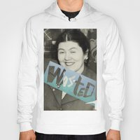 wasted rita Hoodies featuring WASTED by Elizabeth Bello