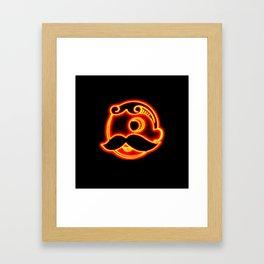 Natty Glow Framed Art Print