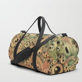 Monster World Washed Duffle Bag
