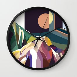 At Mont-Rebei Wall Clock
