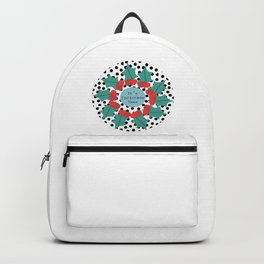 It´s Christmas Time wreath Backpack