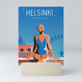Helsinki Finland Mini Art Print
