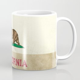 Vintage California Flag Coffee Mug