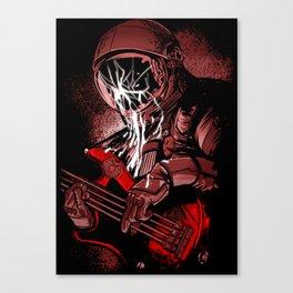astronaut bass Canvas Print