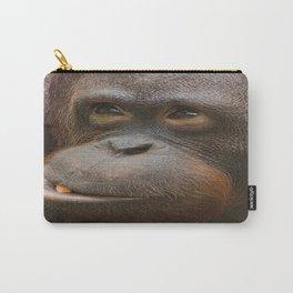 Orangutan Face Carry-All Pouch