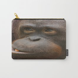 Orangutan Face Carry-All Pouch