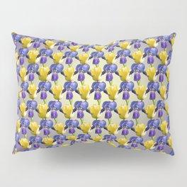 Tulip and Iris Pillow Sham
