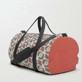 Let Your Heart Be Your Compass Pattern Duffle Bag