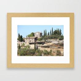 The South of France Framed Art Print