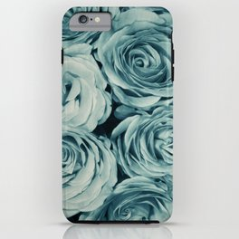 Vintage Blue iPhone Case