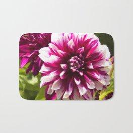 Purple Dahlia Passion Bath Mat