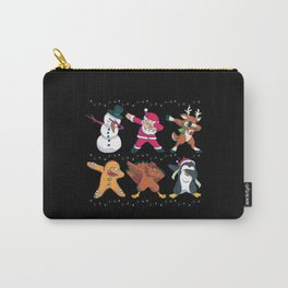 Christmas Dabbing Nicholas Holidays Gift Carry-All Pouch