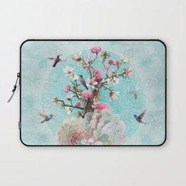 FLORAL HUMMINGBIRD Laptop Sleeve