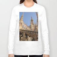 milan Long Sleeve T-shirts featuring Milan by Alan Wong