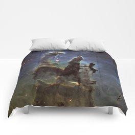 Pillars of Creation (Eagle Nebula) Comforters