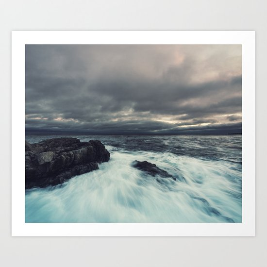 Washed Point Art Print