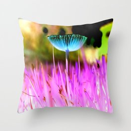 Fungal Invasions Throw Pillow