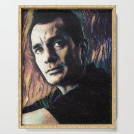 Jack Kerouac Serving Tray